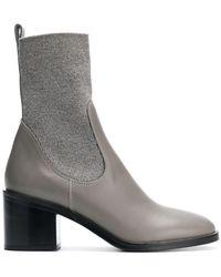 Fabiana Filippi - Chunky Heel Mid-calf Boots - Lyst