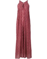 Vanessa Bruno Floral Print Wide-leg Jumpsuit - Red