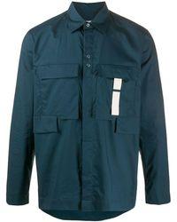 Craig Green カーゴスタイル シャツ - ブルー