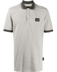 Philipp Plein - Рубашка Поло Institutional С Нашивкой-логотипом - Lyst