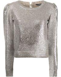 Alexander McQueen - メタリック セーター - Lyst