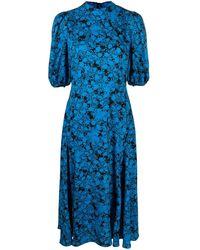 Diane von Furstenberg Платье Миди Nella - Черный