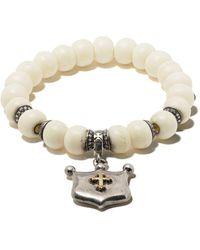 Loree Rodkin - Beaded Pendant Bracelet - Lyst