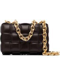 Bottega Veneta Сумка На Плечо The Chain Cassette - Коричневый
