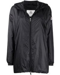 Pyrenex Logo-patch Hooded Jacket - Black