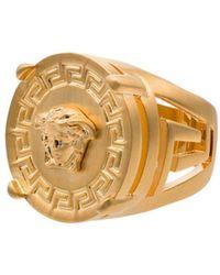 Versace Кольцо Medusa - Металлик