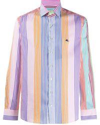 Etro Striped Shirt - Blue