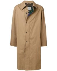 Lanvin - Single-breasted Trench Coat - Lyst
