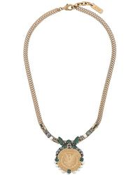 Rada' - Coin Pendant Necklace - Lyst