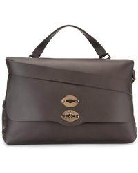 Zanellato - Flap Closure Briefcase - Lyst