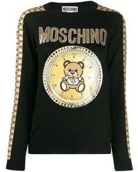 Moschino Teddy Bear Jumper - Black