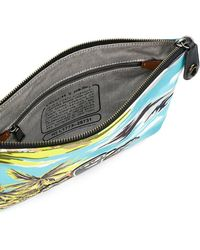COACH | Printed Pouch | Lyst