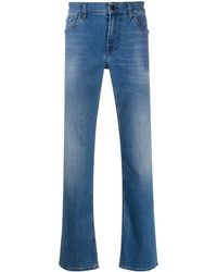 7 For All Mankind ストレートジーンズ - ブルー