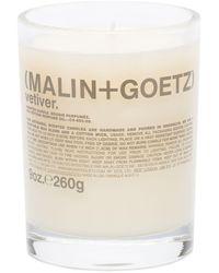 Malin+goetz Vetiver Candle (260g) - White