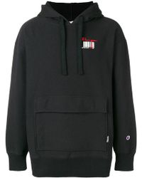 Champion - Barcode Hoodie - Lyst