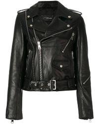 Manokhi - Classic Biker Jacket - Lyst