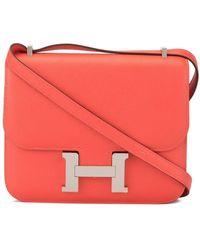 Hermès Мини-сумка На Плечо Constance - Красный