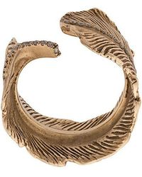 M. Cohen - 14k Gold Feather Ring - Lyst