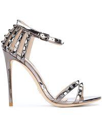 Gianni Renzi - Studded Strap Sandals - Lyst