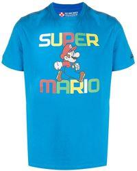 Mc2 Saint Barth Super Mario Tシャツ - ブルー
