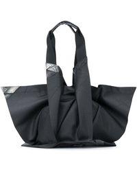 132 5. Issey Miyake Origami Tote - Black