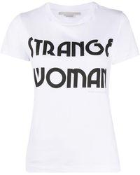 Stella McCartney - Футболка Strange Woman - Lyst