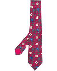 Hermès - Cravate en soie à fleurs pre-owned (années 2000) - Lyst