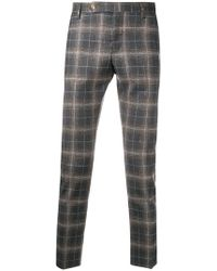 Entre Amis - Plaid Tailored Trousers - Lyst