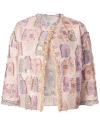 Tsumori Chisato - Embroidered Fitted Jacket - Lyst