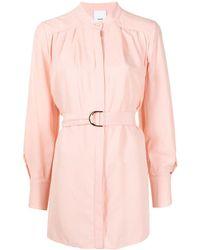 Acler Dawson シャツドレス - ピンク