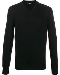 Theory V-neck Sweater - Black