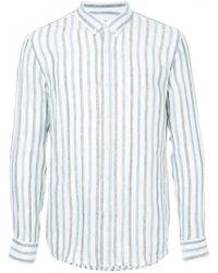 Venroy - Striped Button Down Shirt - Lyst