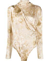 Magda Butrym Favara Body Suit - Multicolor