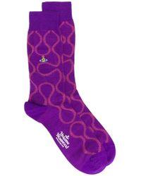 Vivienne Westwood - Squiggle Socks - Lyst