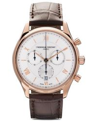 Frederique Constant Наручные Часы Classic Quartz Chronograph 40 Мм - Многоцветный