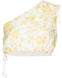 Sir. The Label Clementine One-shoulder Top - Yellow