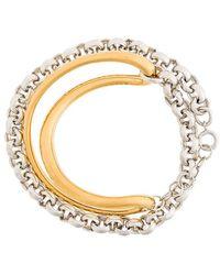 Charlotte Chesnais - Initial Chain Bracelet - Lyst