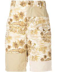 Engineered Garments Hawaiian トランクス水着 - ナチュラル
