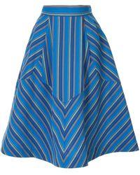 Rosie Assoulin Batman スカート - ブルー