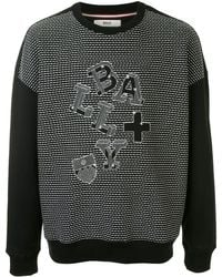 Bally Embroidered Sweatshirt - Black