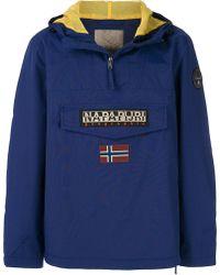 Napapijri - Hooded Jacket - Lyst