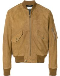Saint Laurent Camel Light Jacket - Brown