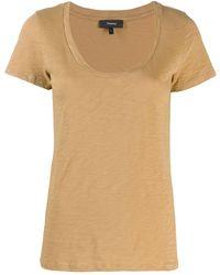 Theory - ラウンドネック Tシャツ - Lyst