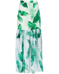 Brigitte Bardot 'lilian' Foliage Print Skirt