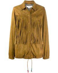 Golden Goose Deluxe Brand Куртка С Бахромой - Коричневый