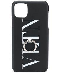 Valentino Garavani Чехол Для Iphone С Логотипом - Черный