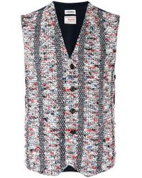Coohem - Buttoned Tweed Vest - Lyst