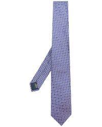 Lanvin - Corbata clásica estampada - Lyst