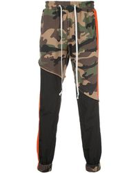 God's Masterful Children Terry Track Pants - Green