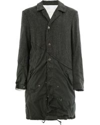 Greg Lauren - Herringbone Fishtail Parka Artist Coats - Lyst